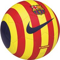 Foto: Nike voetbal FCB Prestige rood/geel