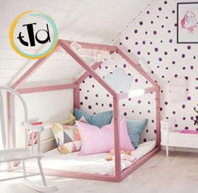 ricreare piccole casette nelle camere, così da creare un regno tutto particolare e intimo