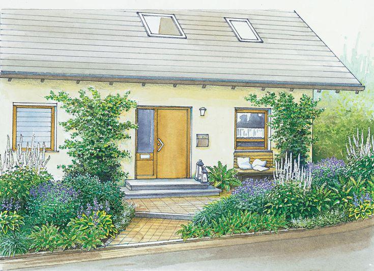 Gartenideen f r einen vorgarten zahr dka for Gartenideen vorgarten