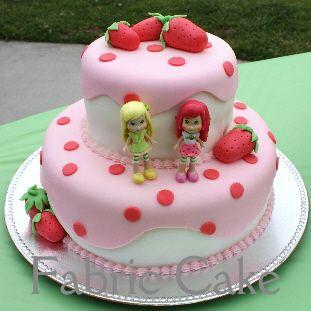 Strawberry Shortcake cake idea for Karlee's 4th Birthday!