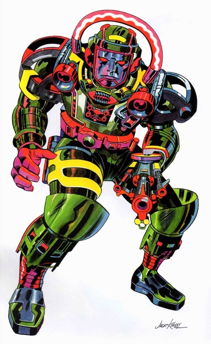 Robot Defender by Jack Kirby