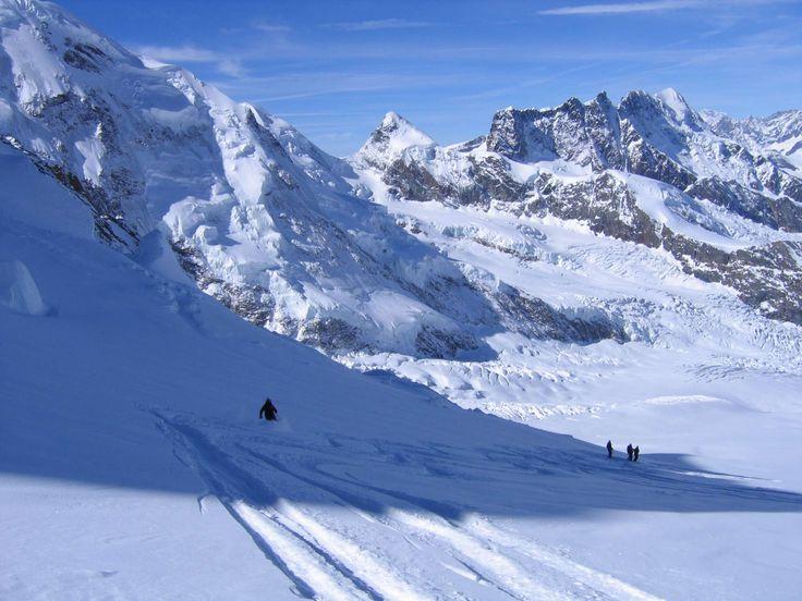 Epic Europe - Guided Heliskiing Haute Route Adventure #powder#ski#pure#sport#snow#heliski