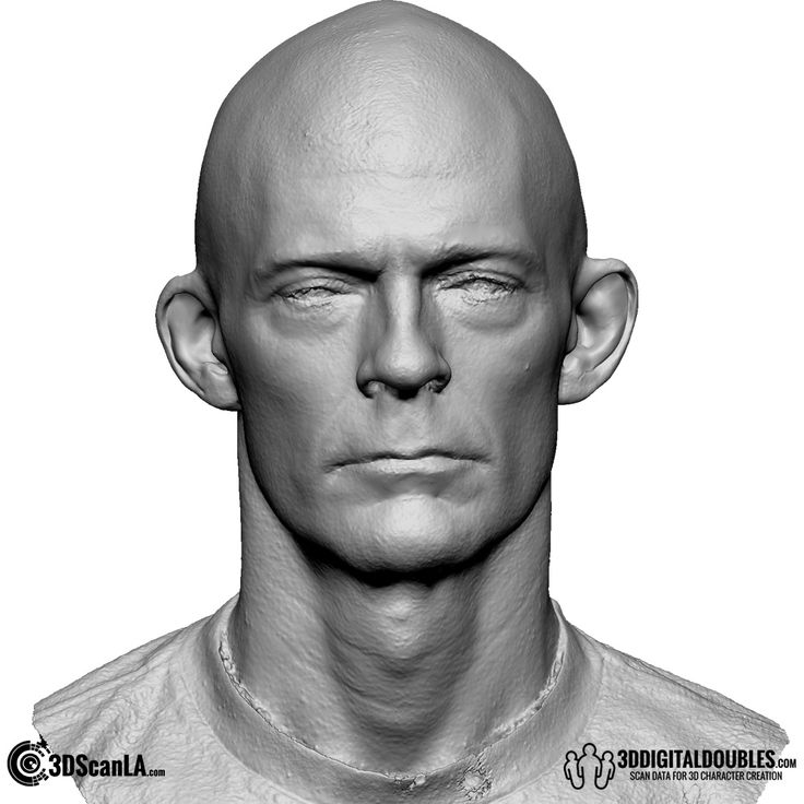 3D Head and Body Scanning for 3D Character Design | 3D Head Scan, 26-06