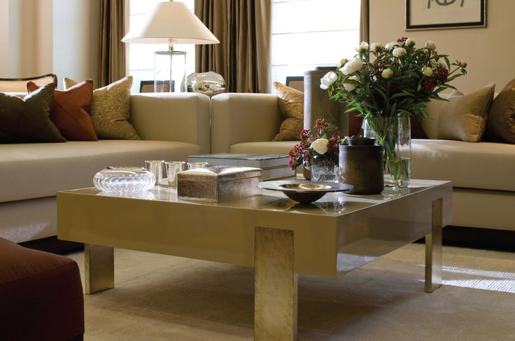 A stunning coffee table at a Knightsbridge Apartment | INTARYA |