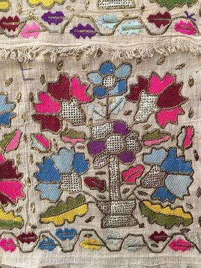 Antique Ottoman-Turkish Silk