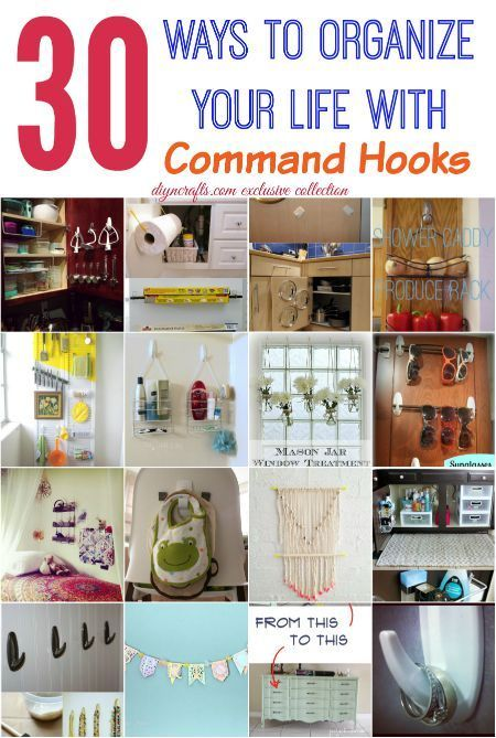 here are 30 ways that you should be using command hooks in your home right now your life. Black Bedroom Furniture Sets. Home Design Ideas