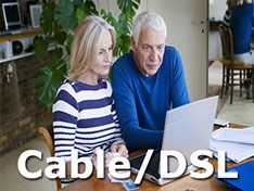 Cable and DSL Internet Service