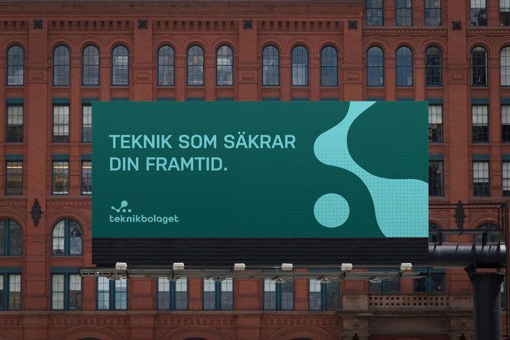 Grafisk profil till Teknikbolaget Scandinavia.