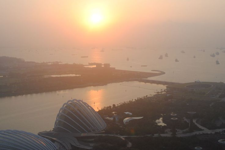 When I look at the pictures from that gorgeous sunrise view from our room at Marina Bay Sands I remember exactly what I felt at that momentand it instantly makes me long for vacation and adventure. We had such a great time in Singapore with the who