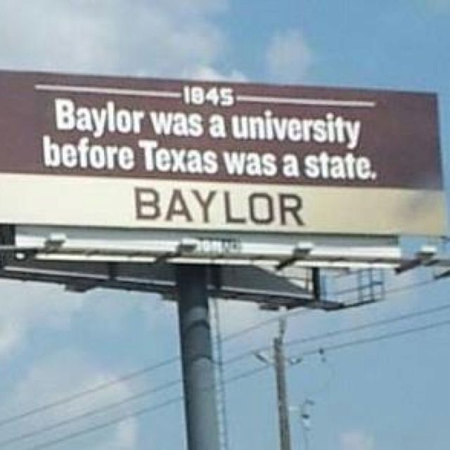 Oldest and best university in Texas. #SicEm