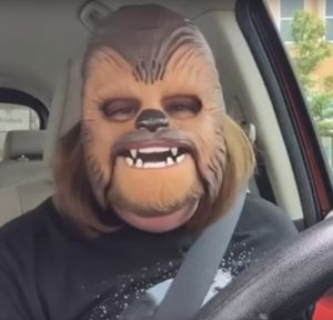 The Top 20 Funny Viral Videos of All Time: Chewbacca Lady
