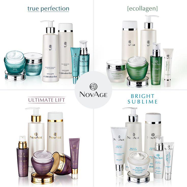 ¡Tenemos soluciones #NovAge para todo tipo de problemas sobre cuidado de la piel!