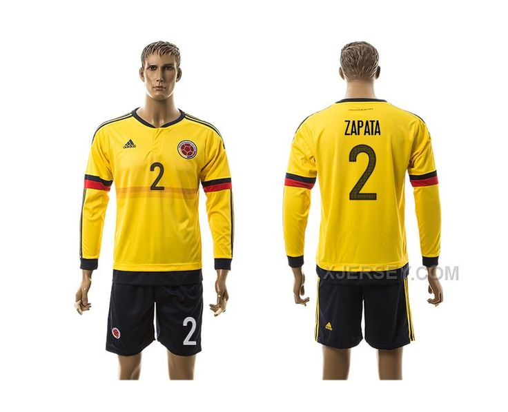 http://www.xjersey.com/201617-colombia-2-zapata-home-long-sleeve-jersey.html 2016-17 COLOMBIA 2 ZAPATA HOME LONG SLEEVE JERSEY Only $35.00 , Free Shipping!