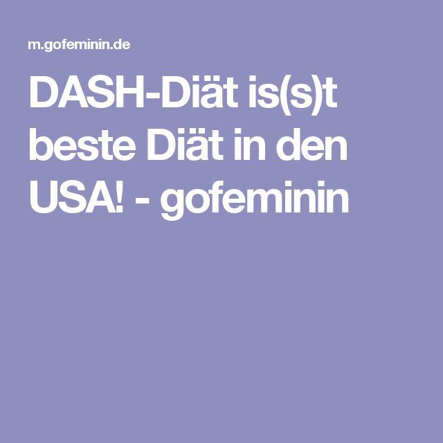 DASH-Diät is(s)t beste Diät in den USA! - gofeminin
