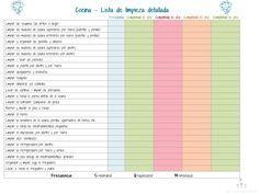 agenda de tareas del hogar - Buscar con Google