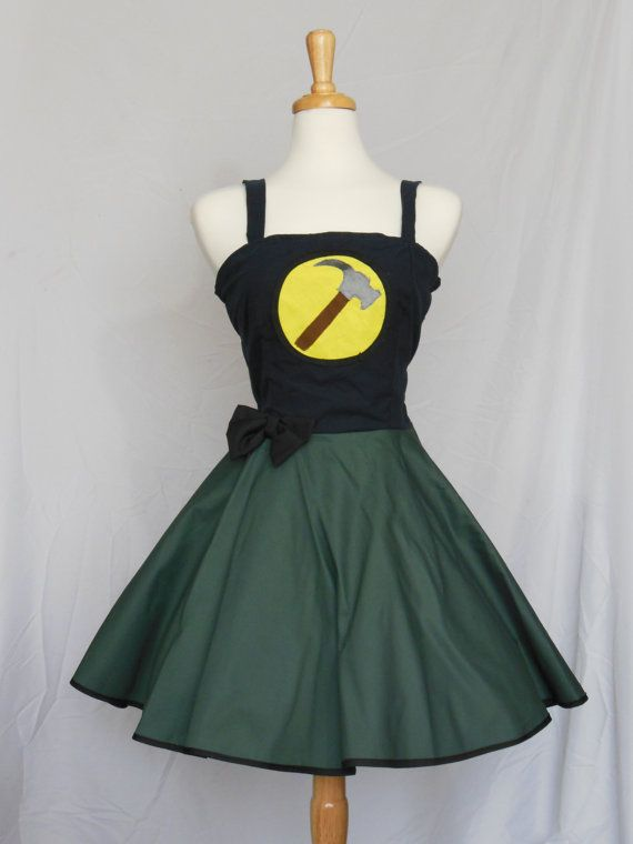 captain hammer retro style dress from dr horribles by lameasaurus 12000 verywhedonchristmas - Dr Horrible Halloween Costume