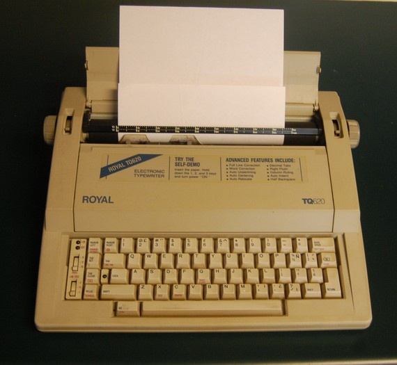 1980's Royal Wheelwriter Electric Typewriter