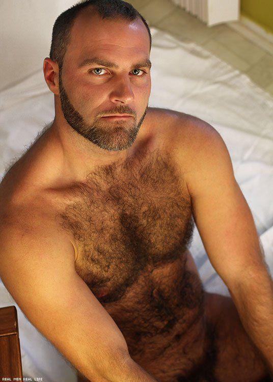 Hombres peludos maduros