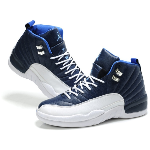 promo code 07133 66e30 blue and white jordan 12
