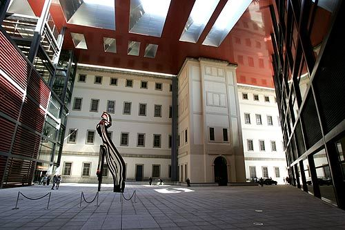 National Art center Museum of Reina Sofia, #Madrid More photos: https://www.facebook.com/travelspain10