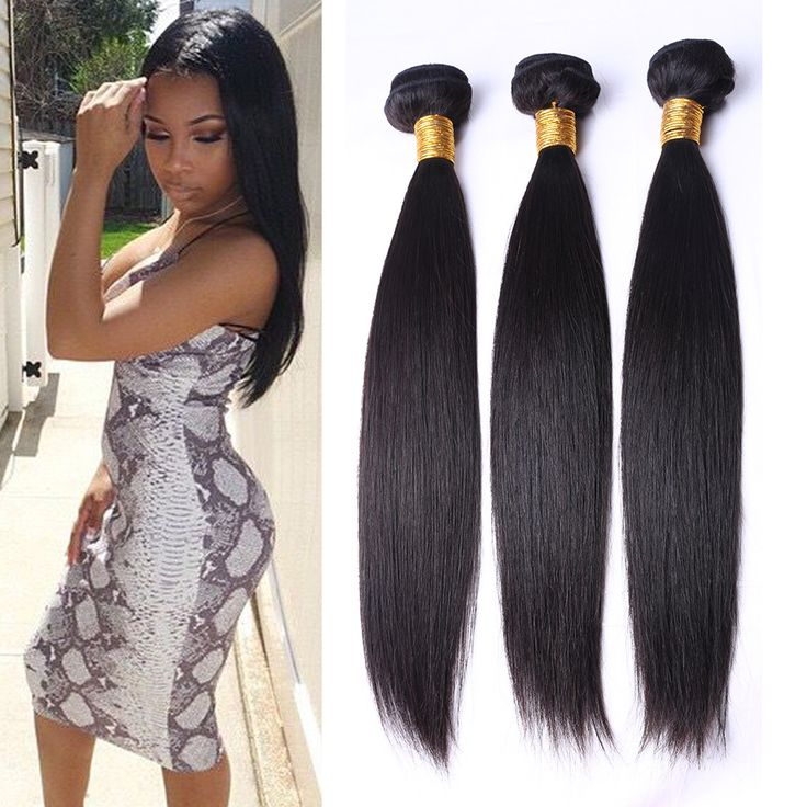Peru rambut perawan lurus 3 bundel / banyak rambut Peru menenun rambut manusia lembut 7A Peru lurus rambut perawan dapat mewarnai