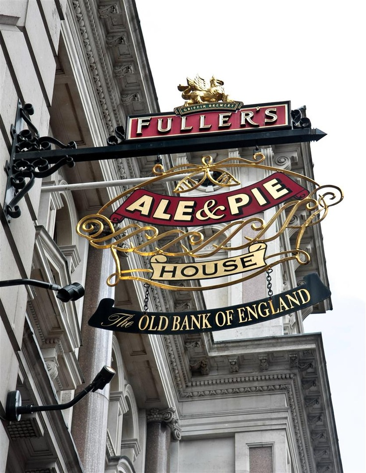 Fuller...my paternal grandmother's maiden name.   The Old Bank of England, London Pub