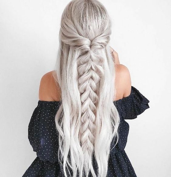 28 Spring Cute Braids Ponytail Hairstyles To Change Your Look Latest Fashion Trends for : Page 15 of 28 : Creative Vision Design