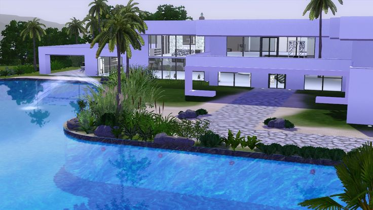 La casa dei sogni case the sims 3 pinterest sims for Case the sims 3 arredate