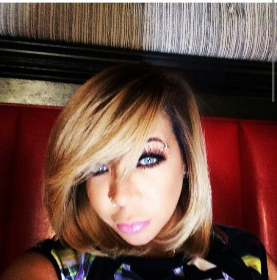 "Tameka ""Tiny"" Harris. The risk was worth it Tiny looks beautiful!"