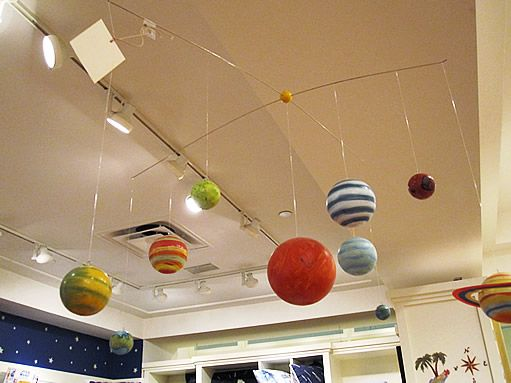 Best Solar System Baby Mobile Images On Pinterest Baby - Hanging solar system for kids room