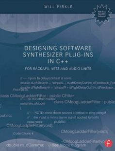 Good Designing Software Synthesizer Plug Ins in C free download by Will Pirkle ISBN with BooksBob Fast and free eBooks download
