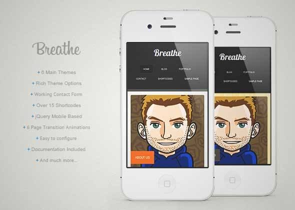 Download and review of Breathe - Wordpress, one of the best Themeforest Mobile themes {Download & review at|Review and download at} {|-> }http://best-wordpress-theme.net/breathe-download-review/