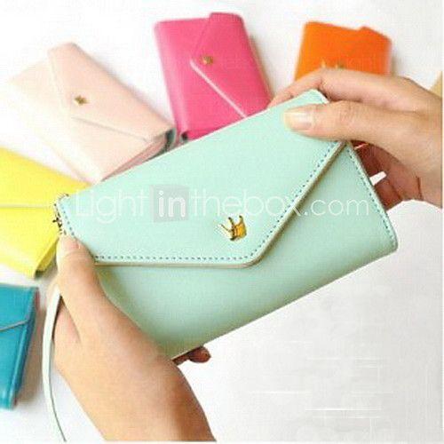 Women's Fashion Multifunctional Wallet - USD $ 5.99