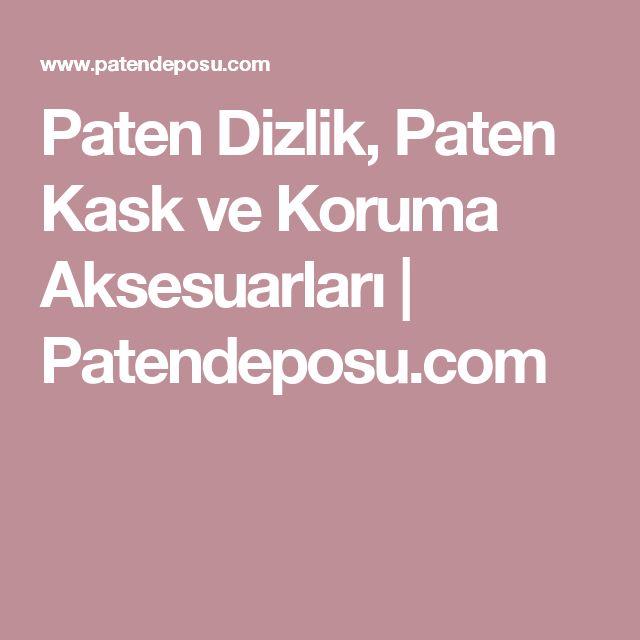 Paten Dizlik, Paten Kask ve Koruma Aksesuarları | Patendeposu.com
