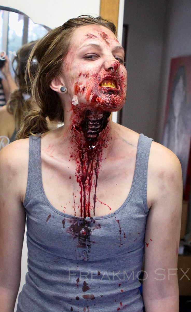 Zombie Makeup - Google Search | Zombie Faces | Pinterest | Search Makeup And Zombies