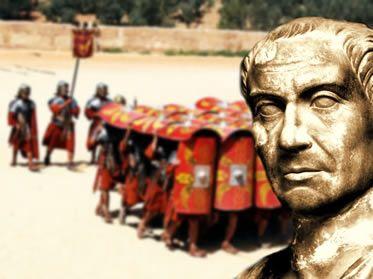 As feições do exército responsável pela formação do poderoso Império Romano.