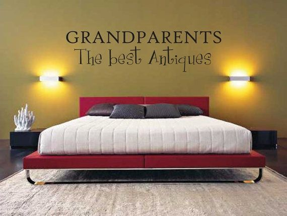 Vinyl Saying - Vinyl Lettering - Wall Writing Grandparents  Vinyl Decal  Vinyl Lettering  by thatsalowprice10, $5.99