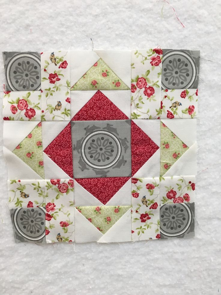 Block 24 of The Splendid Sampler quilt