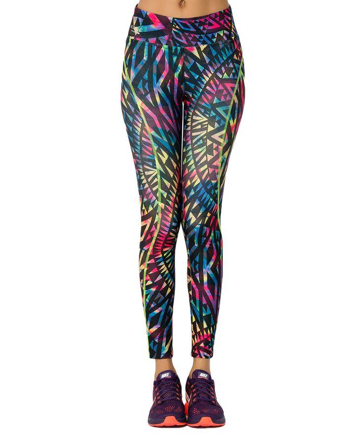 Tribal multi-coloured leggings Sale - JEGGIE ATHLETIC