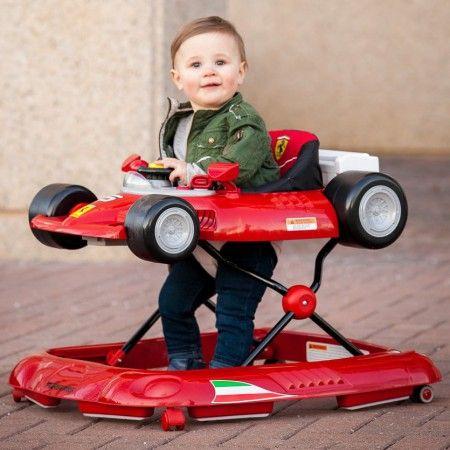 Free $25 Amazon Gift Card - Ferrari F1 Race Car Baby Walker