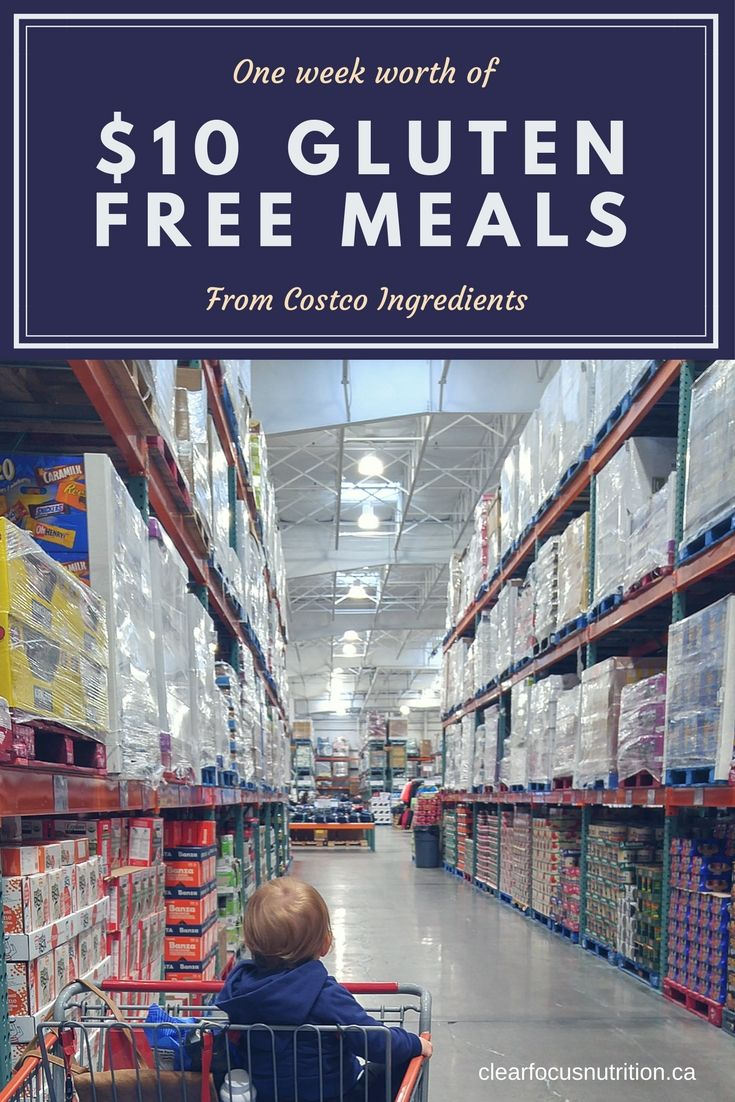 Seven simple gluten free recipes from Costco ingredients for only $10
