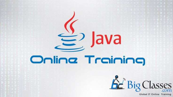 For JAVA online training course details visit:- http://bigclasses.com/core-java-onlin... , call: +91 800 811 4040 For regular Updates on JAVA Online Training please like our page:- Facebook:- https://www.facebook.com/bigclasses/ Twitter:- https://twitter.com/bigclasses LinkedIn:- https://www.linkedin.com/company/bigc... #bigclasses #online #training #courses #OnlineTraining #tutorials #OnlineClasses #java
