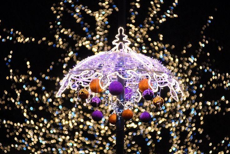 Krakowskie Przedmieście - Christmas decorations