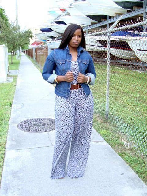 Curves and Confidence | Inspiring Curvy Women One Outfit At A Time: Weekend Wear: Jumpsuit