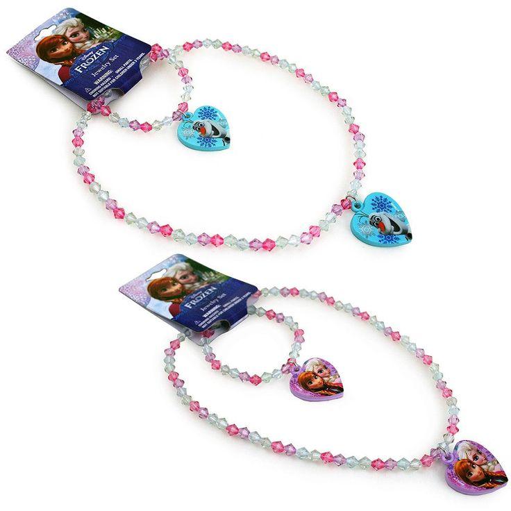 Disney Frozen Jewelry Set [Anna, Elsa and Olaf]