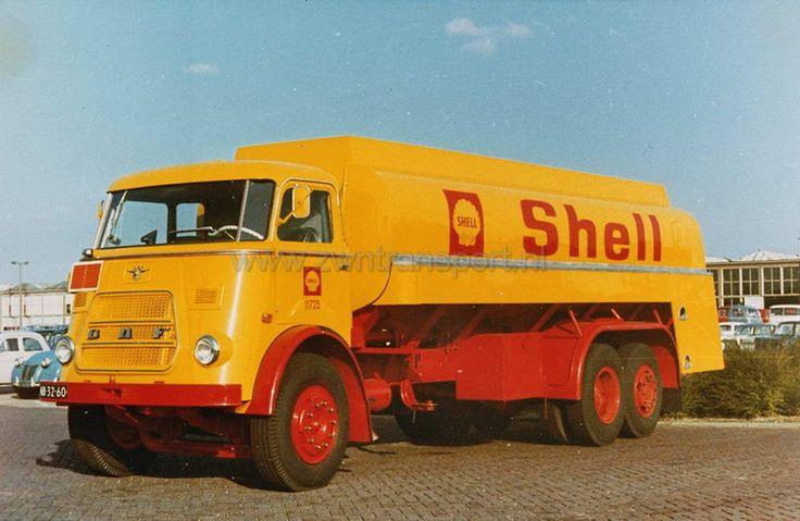 DAF AB-32-60 Shell  tandemas  transport foto's - Google zoeken