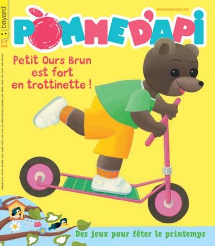 N° 567 mai 2013, le magazine déveil, lecture pour enfant - Pomme dApi