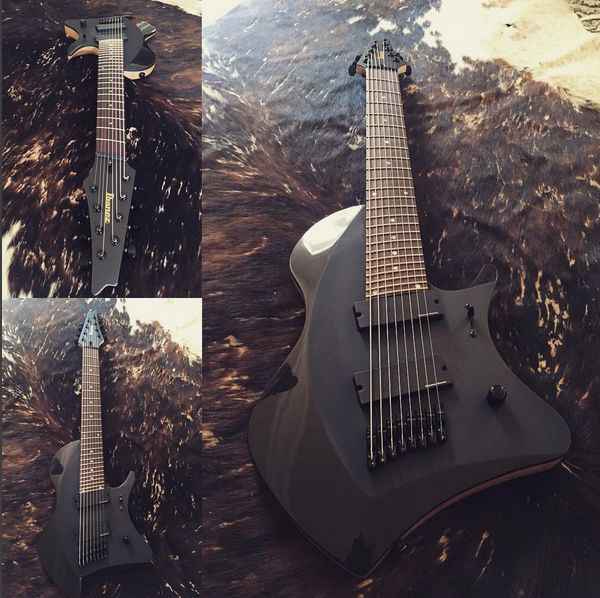 Prototype of Tosin Abasi signature Ibanez 8-string