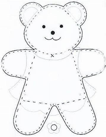 Image result for Simple Teddy Bear Pattern | Teddy bear ...