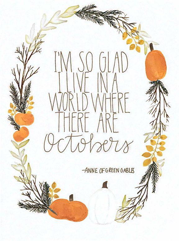 #October Art Print